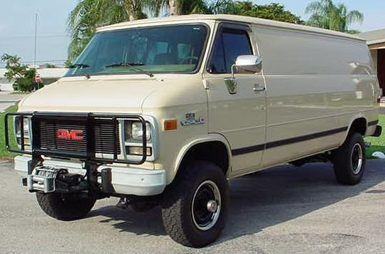 Photo: 1994 GMC 4X4 van. | Chevy/GMC vans. album ...