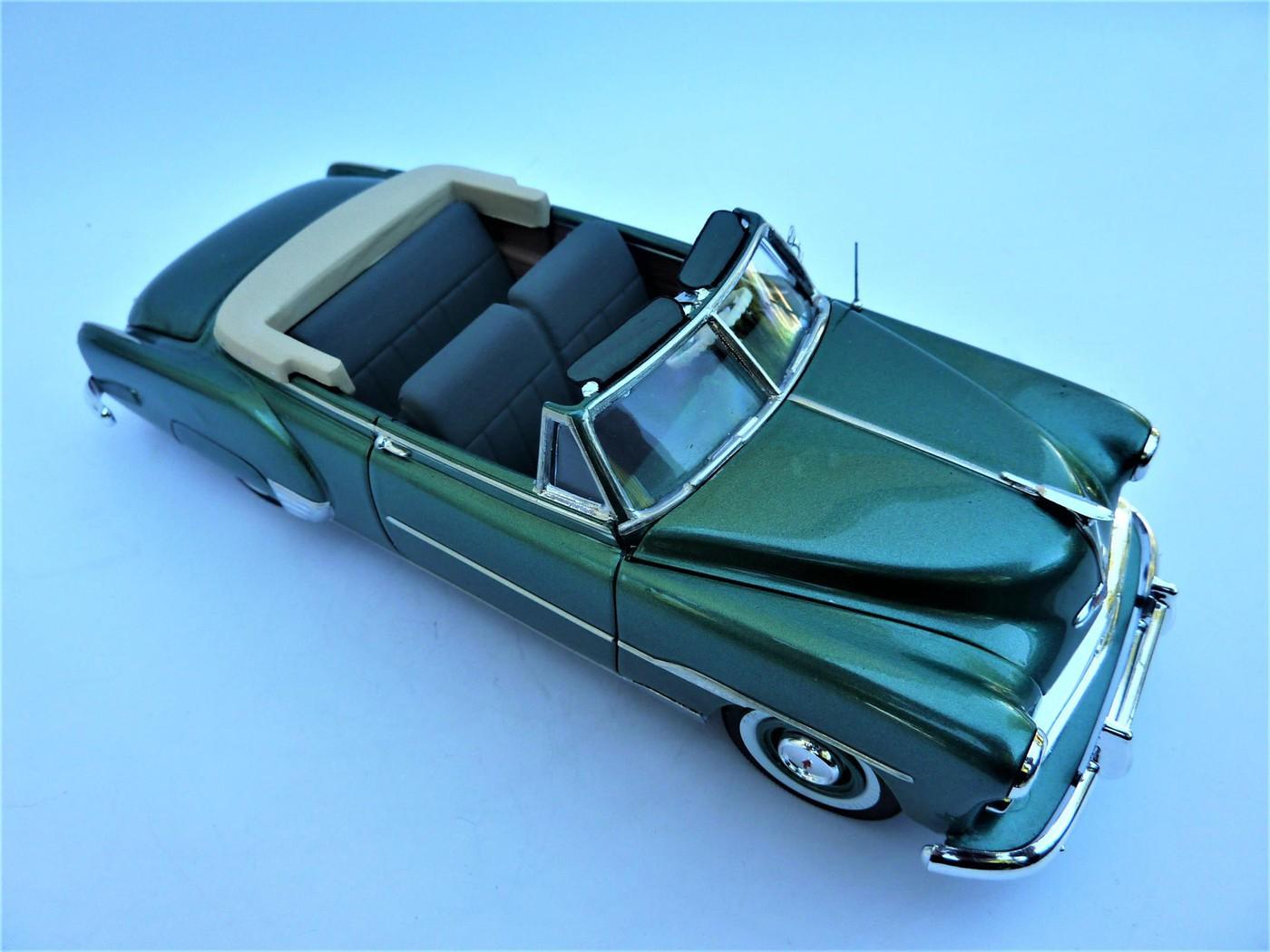 projet Chevrolet 51 convertible terminée  Photo31-vi