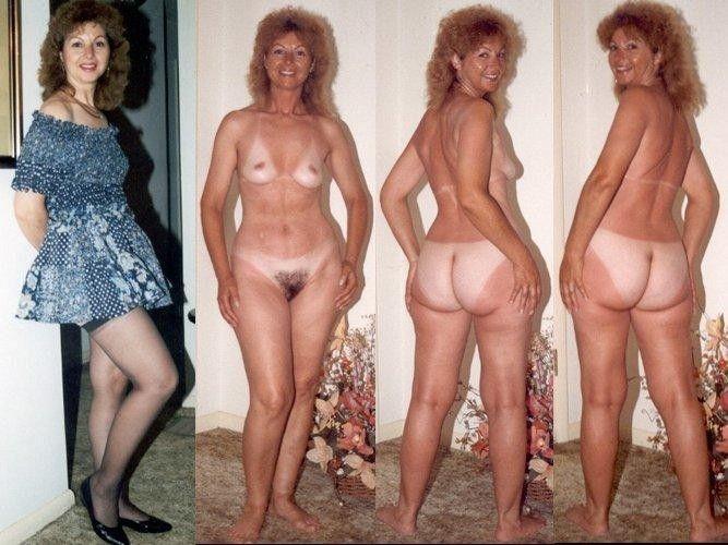 порнофото голых и одетых женщин