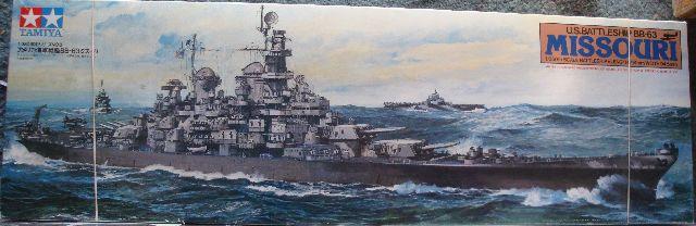 USS Missouri 1/350 Tamiya  Miss000-vi