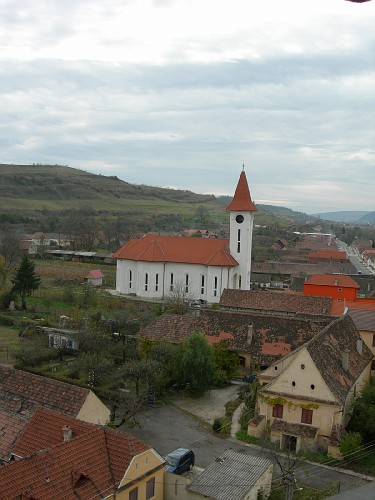 Church from Axente Sever