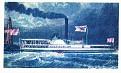 American Heritage Steamboats #11 Milwaukie 1837