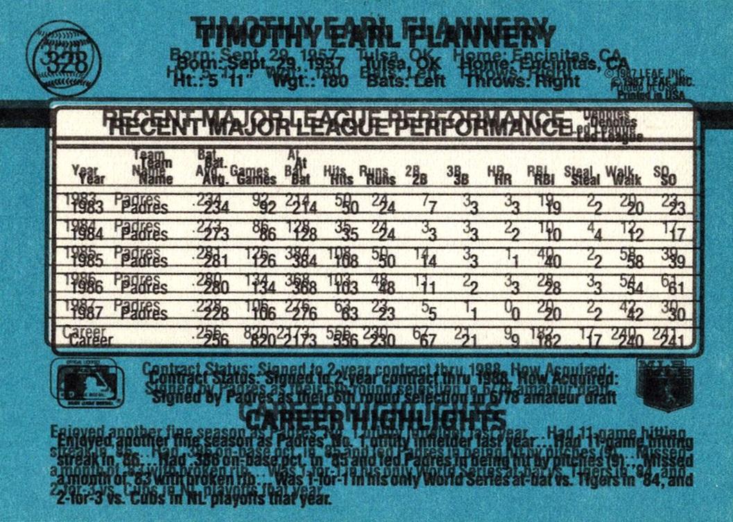 Error 1988 Donruss #328 (2)