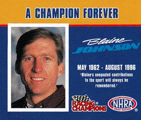1997 Racing Champions 1-144th Blaine Johnson (1)