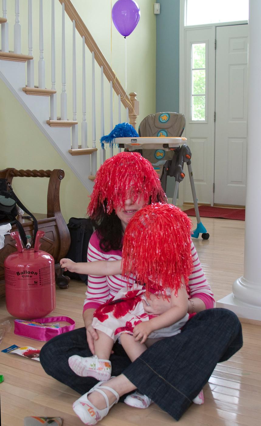 Redhead family