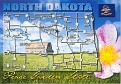 00- Map of NORTH DAKOTA (ND)
