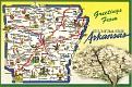 00- Map of ARKANSAS (AR)