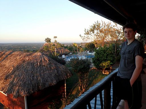 view from Cahal Pech resort