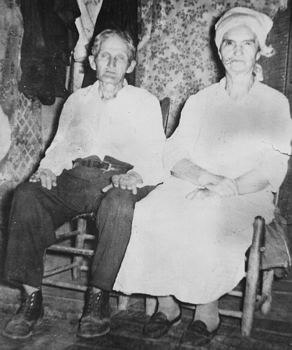 Luther Sharp Gibson and Rosie Bell (HARNESS) Gibson