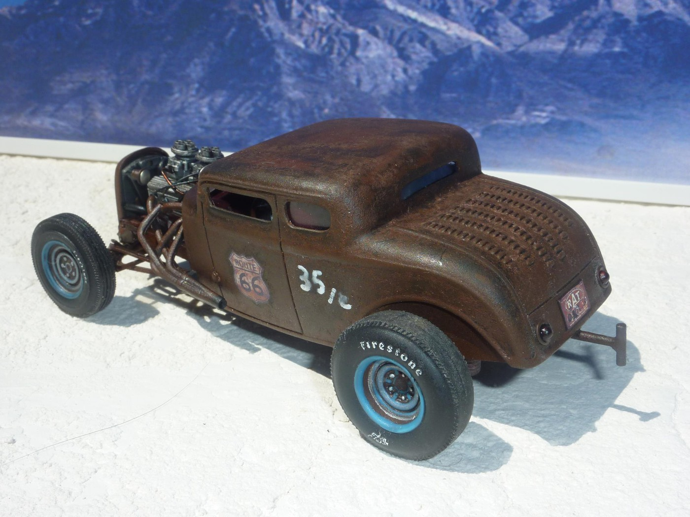 Ford 32 Rat's Bonneville  Photo5-vi