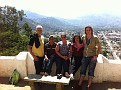 Our Walking Group at Cerro de la Cruz