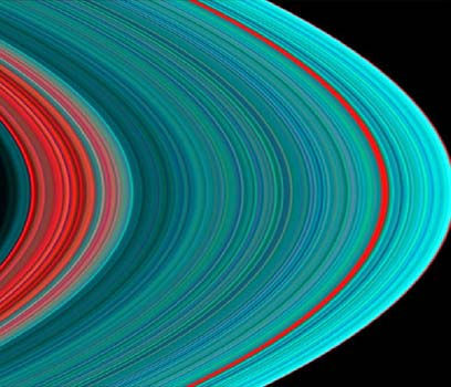 Cassini Saturns rings