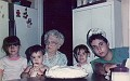 gram & her great-grankids 20 yrs ago
