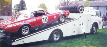 Ford C series bud moore race car transporter 6