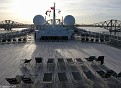 Mast over Deck 13 - Queen Mary 2