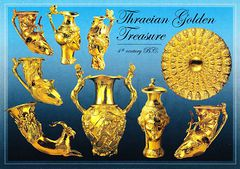 Bulgaria - THRACIAN TREASURES NS