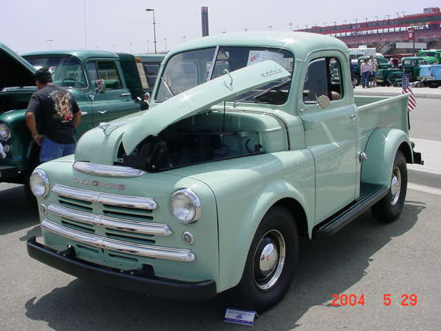 1948 Dodge B1B-108 (Prepping for the road) - Dodge Ram, Ramcharger
