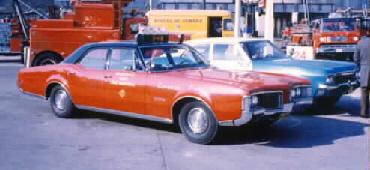 IL- Chicago FD 1970 Olds