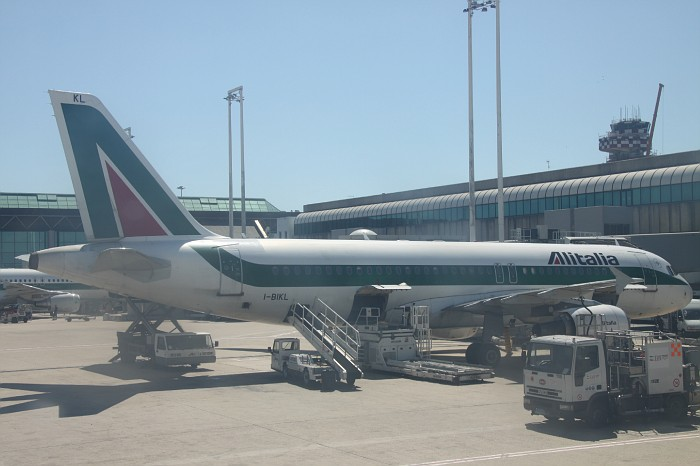 Fiumicino Rome Airport Return (4)