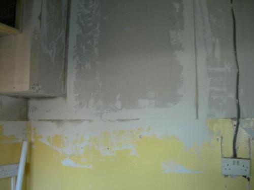 A bit of plasterboard