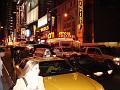 Traffic congestion on 42nd Street.
