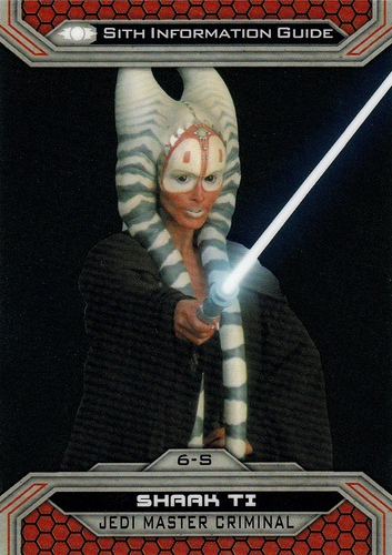 Chrome Perspectives Jedi vs  Sith #06S (1)