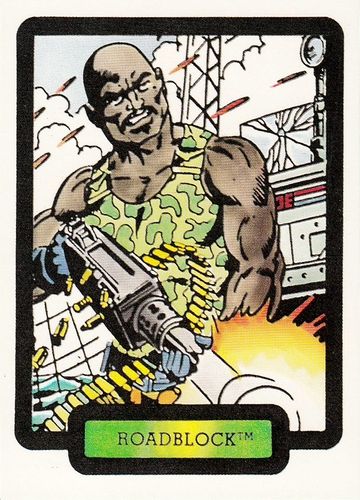1987 Comic Images GI Joe #30 (1)