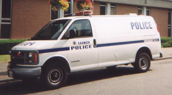 BC - Saanich, Victoria, BC, Police