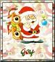 Santa with friendsTaJay