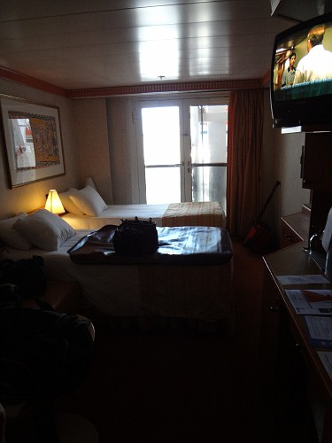 Obstructed Ocean View Or French Door On Pride Cruise