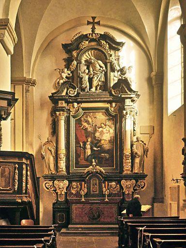 In der Abteikirche