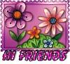 1Hi Friends-flwrs10
