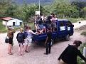 At Lanquin, Guatemala, loading 12 of us up for a 1 hour very bumpy ride to the Lakes of Semuc Champey.