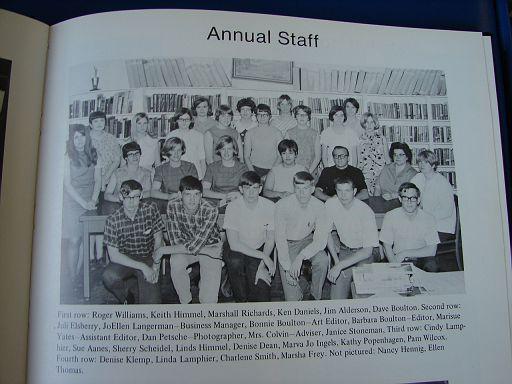 FayetteIaHighSchool1969Annual049