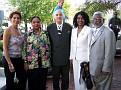 Mrs Lydie Smith, Mrs Claudie Miot, Dr Bernard Miot, Mrs Lola Poisson, Ambassadeur Ray Joseph.