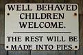 Well behaved children
