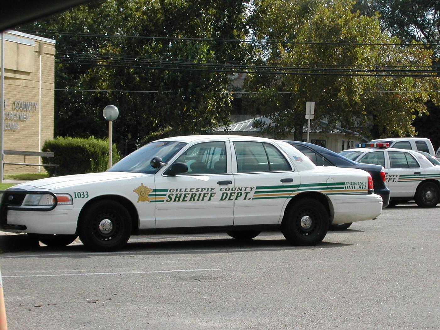 TX - Gillespie County Sheriff