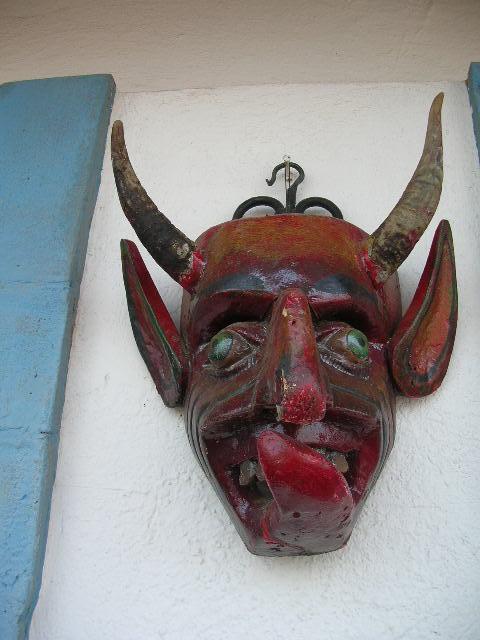 Satan, My Dark Lord? Nah, just another mask