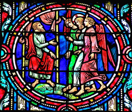 SAINTS PETER AND PAUL CHURCH - STAINED GLASS - 17