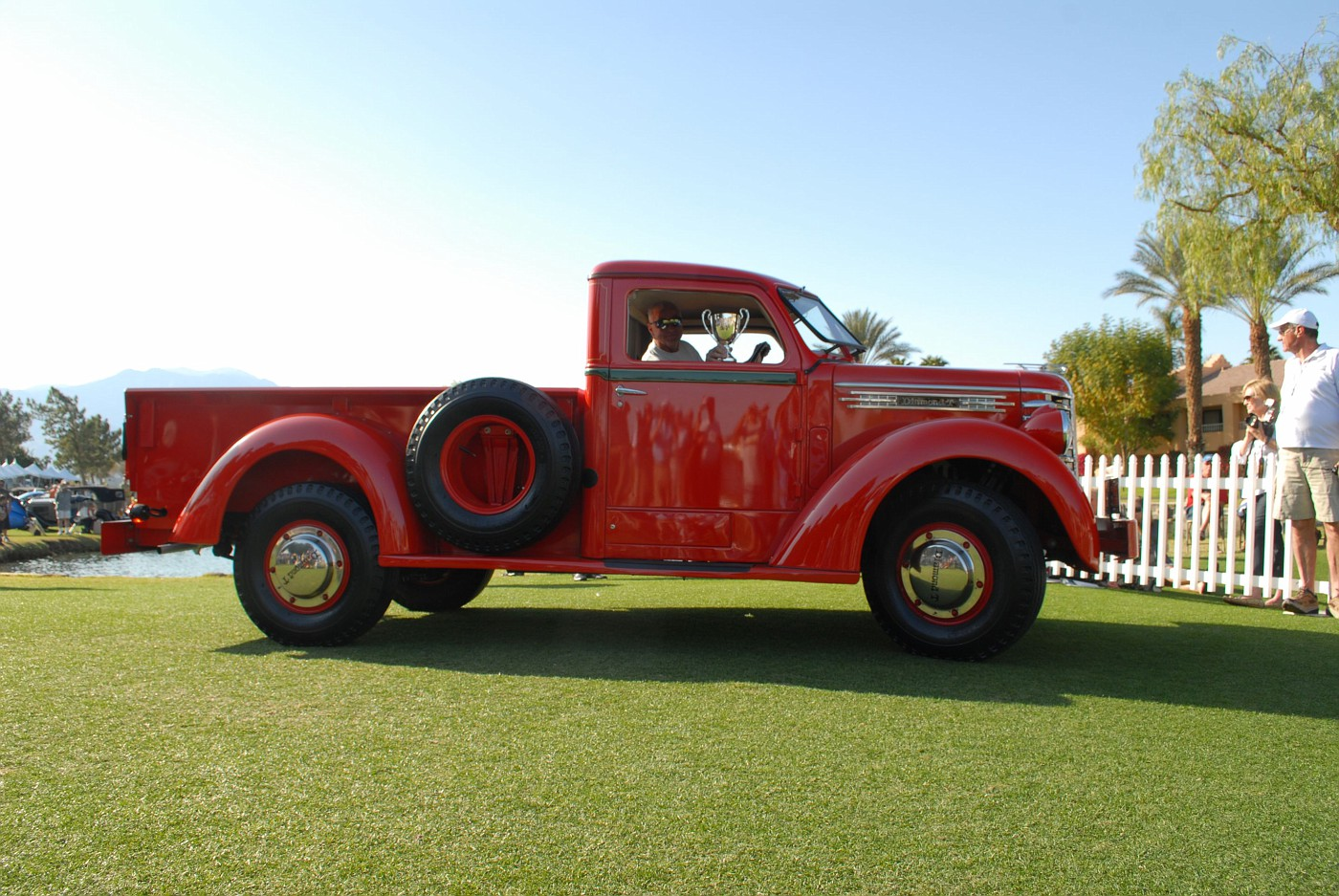 1949 Diamond T pickup owned by Michael McQueen