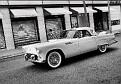 1956 Ford Thunderbird owned by Lynn Jorgensen DSC 5296 HDR B&W