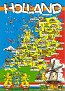 02- Map of Holland