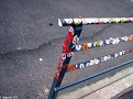 Grafitti left by Cruise Passengers