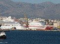 HMS LAURENCE AIDAaura KNOSSOS PALACE SUPERFAST XII Heraklion PDM 20110624 001