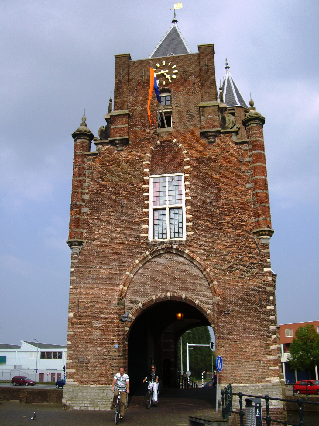 City gate of Haarlem