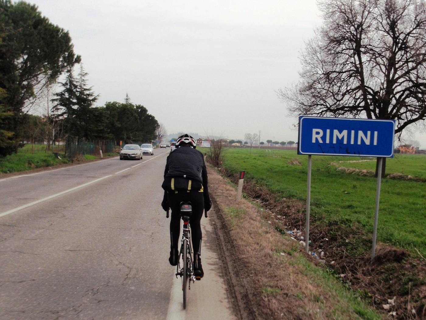Sulla strada a Rimini
