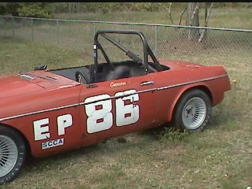 64 MGB SCCA Racer
