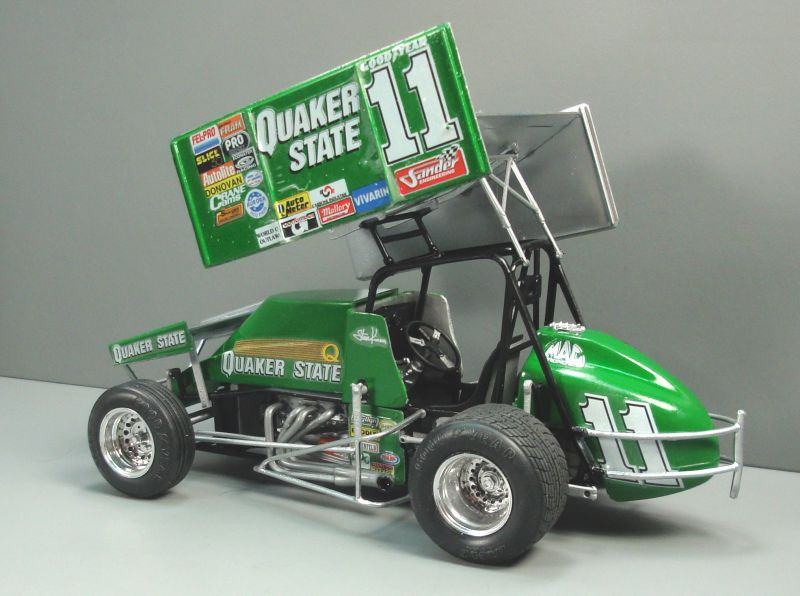 Quaker State Sprint Car QS042f-vi