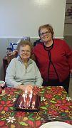 Linda and her Mom celebrating mom's birthday