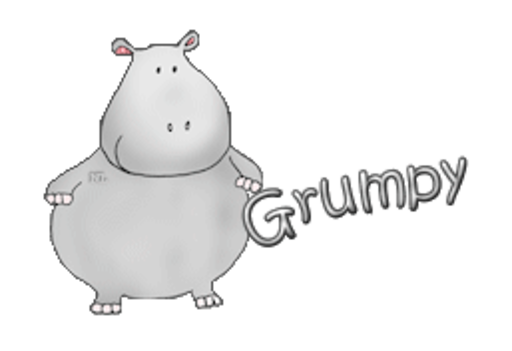 Grumpy - CuteHippo2018